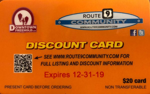Route 9 Discount Card
