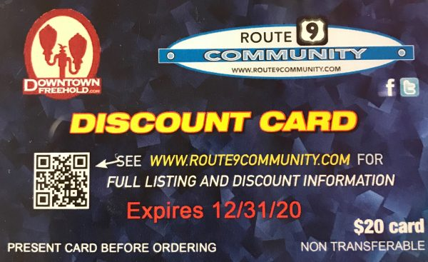 Discount Card Route 9 Community