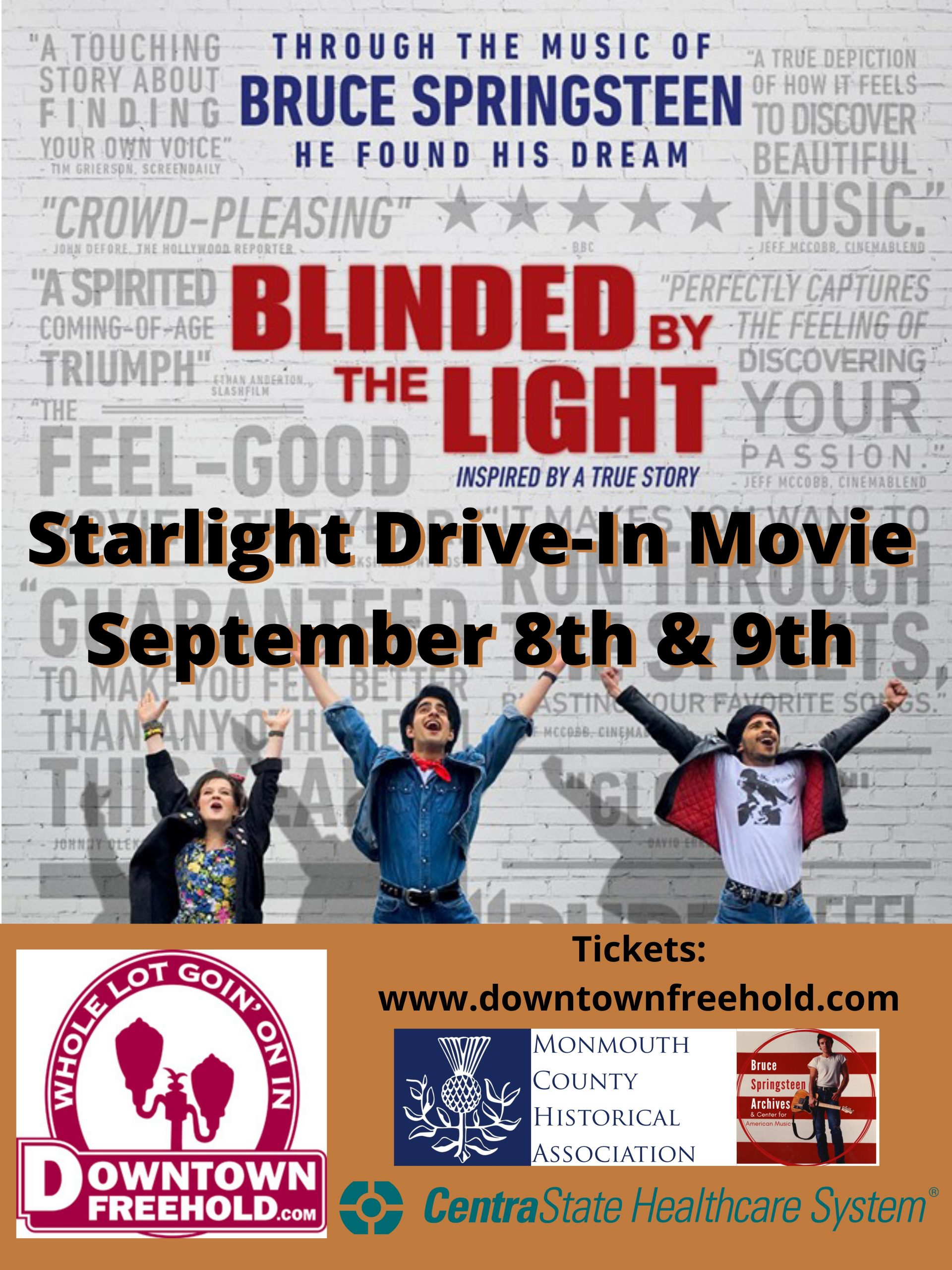 Blinded by the Light Tuesday September 8 2020